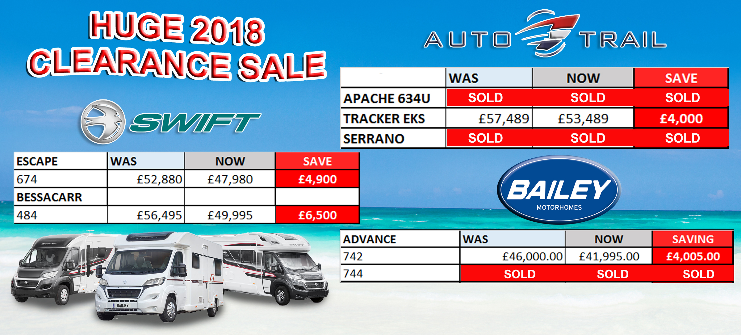 Clearance2018 motorhomes UPDATED2