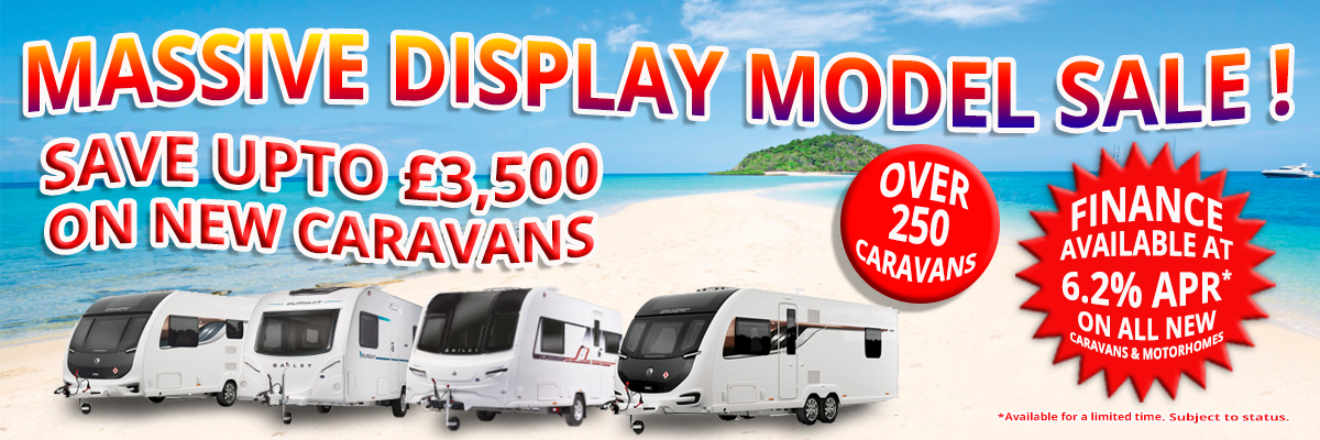 DISPLAY MODEL CARAVANS OFFERS 4