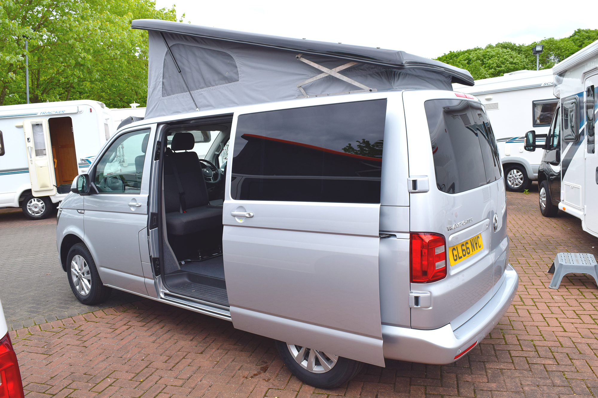 2016 Vw Camper Transporter T28 S Line White Arches