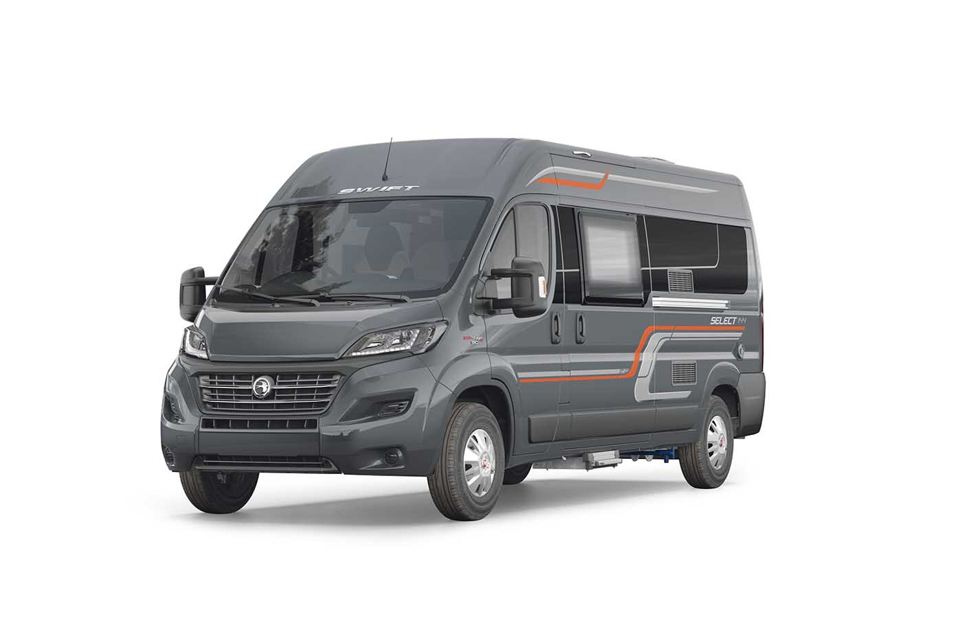 Swift Motorhomes Select 122   White Arches