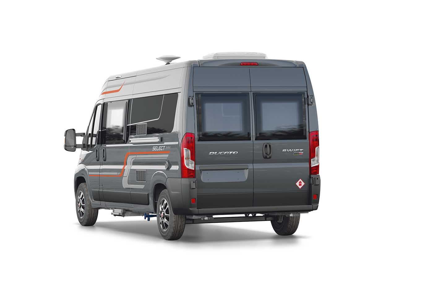 swift motorhomes select  white arches