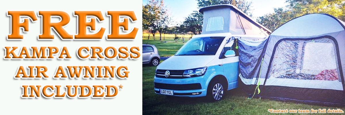 Fixed Banner VW CAMPER AWNING OFFER