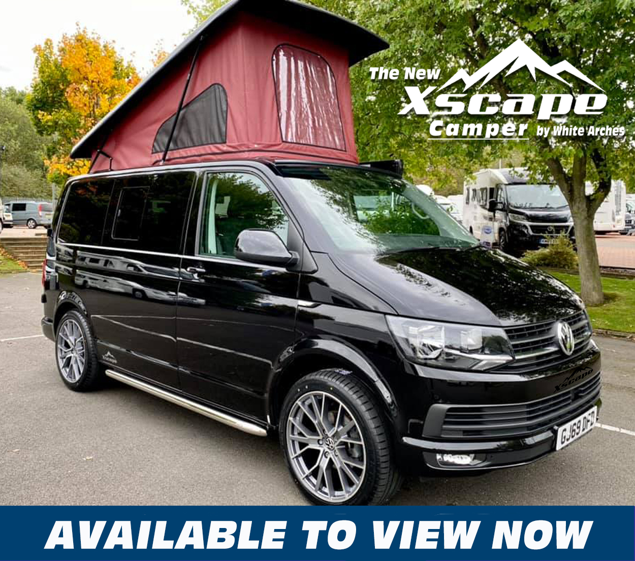Xscape Camper BLACK Thumb v3 ViewNOW