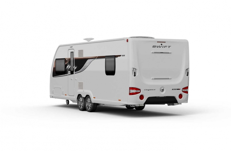 EXT Elegance 650 Rear 3Q SWIFT