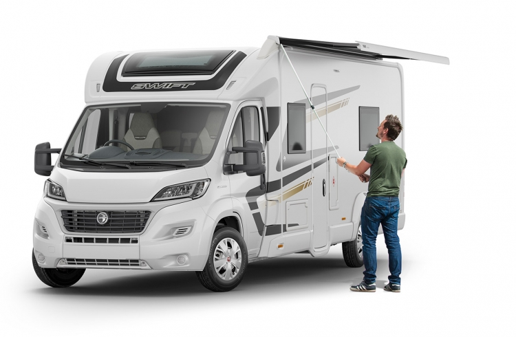 EXT Escape 675 Optional Awning SWIFT