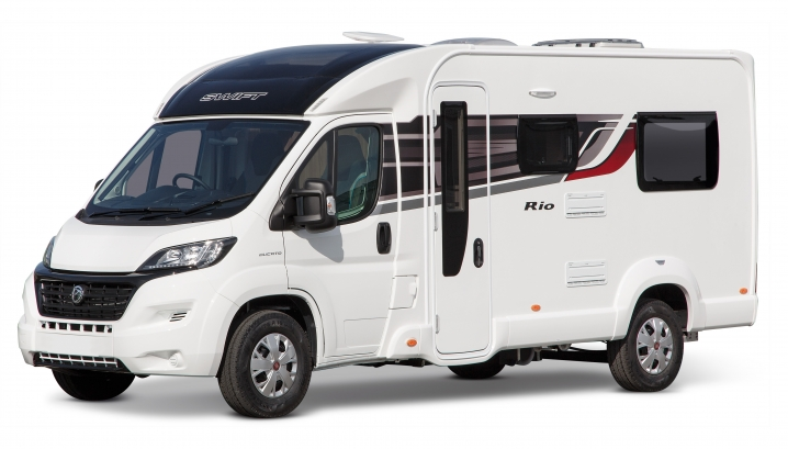 20.Images Motorhomes Swift 40.Rio EXT Rio 320 Exterior Front View RGB