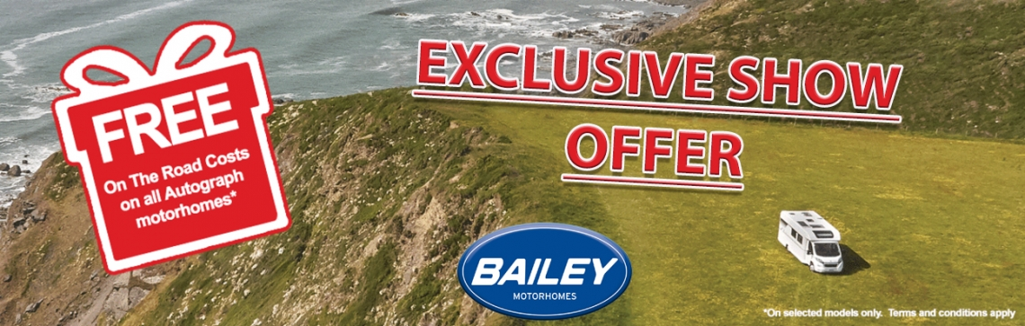 BAILEY OFFER 5 MOTORHOMES