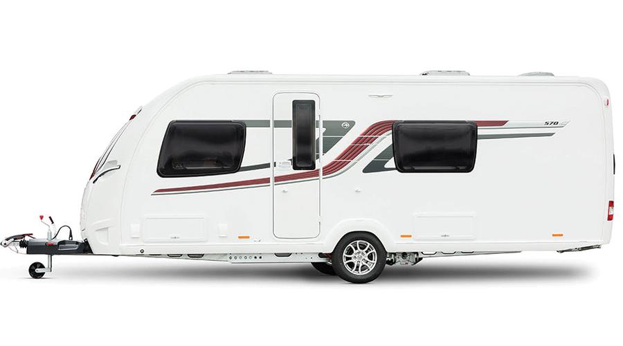 Brilliant 2017 Swift Elegance 580  New Carvans  Highbridge Caravan Centre Ltd